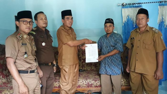 Ka. Kemenag Sarolangun Sampaikan Keputusan Bupati Terkait Larangan Jemaat Ahmadiah Indonesia (JAI)