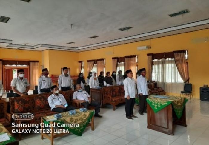 Pengurus KPPL Madrasah di Kukuhkan